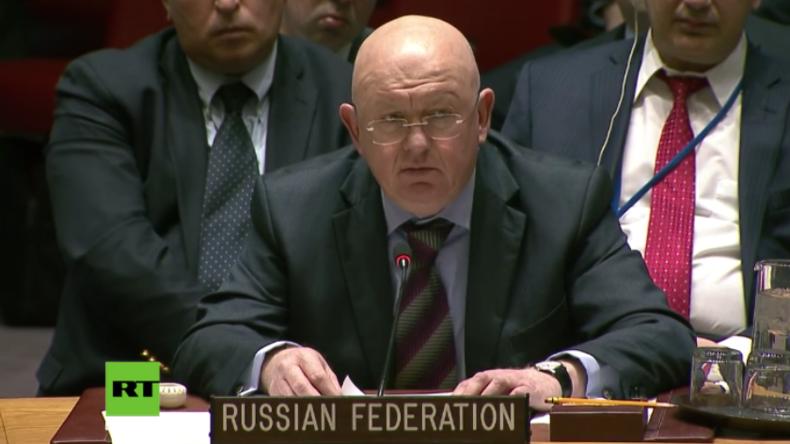 """Russlands UN-Gesandter: """"Cui Bono?"""" - Skriprals Vergiftung """"stinkt nach False Flag"""""""