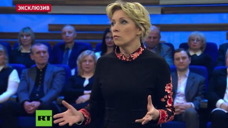 """Sacharowa zu Skripal: """"Es sind gefährliche, korrupte Lügner, mit denen wir es zu tun haben"""""""