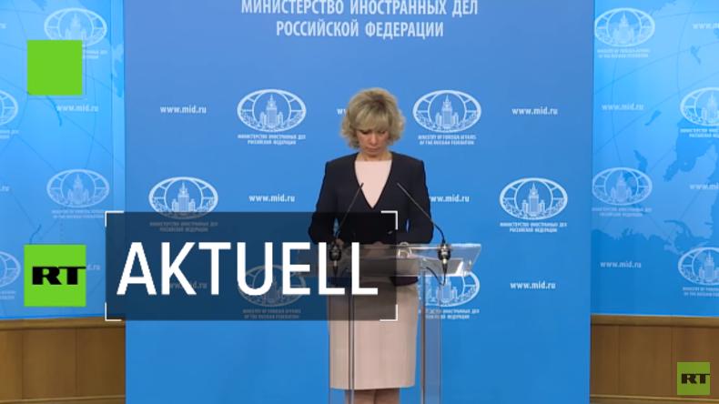 Maria Sacharowa: London verschleiert Wahrheit zum Skripal-Fall (Video)