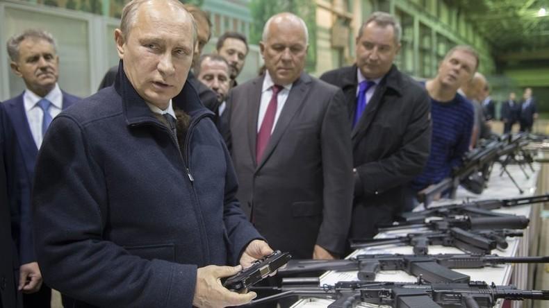 Wladimir Putin: In den 1990ern schlief ich mit einer Schrotflinte neben meinem Bett