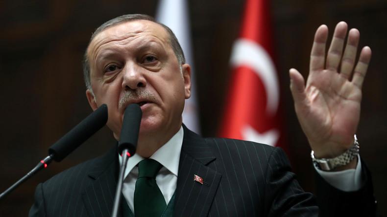 """Erdogan über Afrin-Operation: """"Hey, Europa-Parlament, behalte deine Belehrungen für dich!"""""""