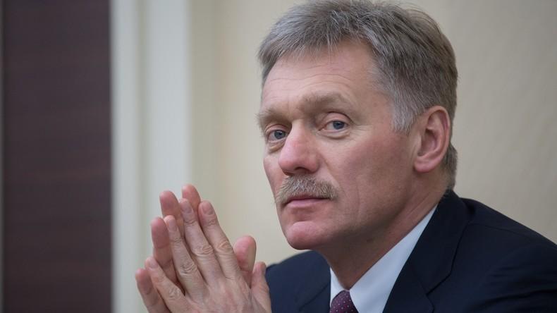 Kremlsprecher: Vorwürfe gegen Putin in Skripal-Affäre sind Verstoß gegen diplomatische Normen