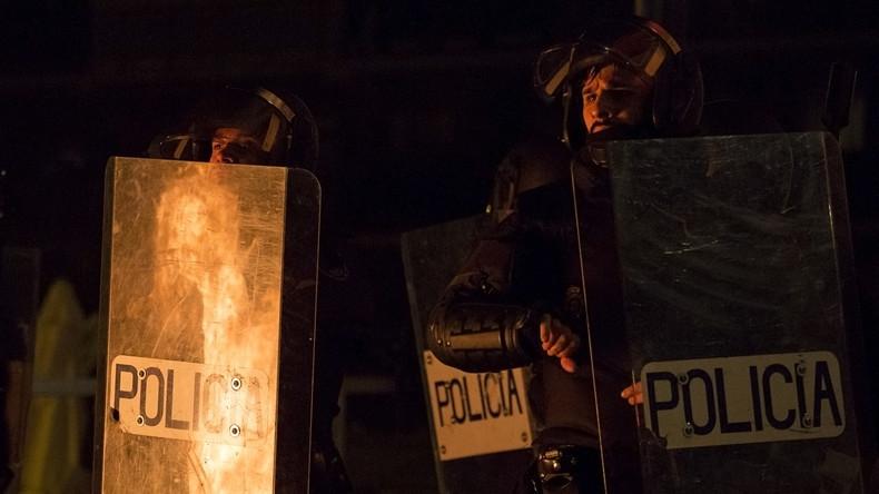Madrid: Schwere Krawalle nach dem Tod eines Straßenhändlers