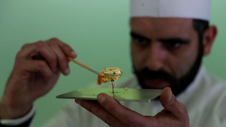 Chocolatier aus Portugal präsentiert Dessert für 7.728 Euro