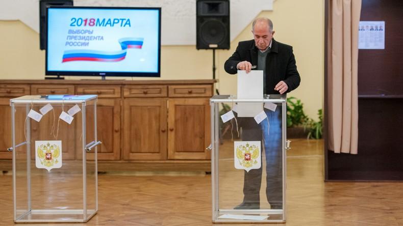Präsidentschaftswahl in Russland 2018 [Live-Updates]