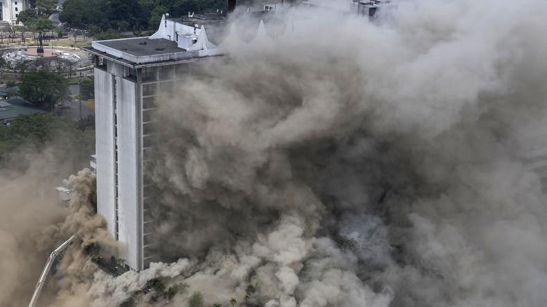 Touristenhotel in Manila in Flammen - mindestens vier Tote, mehrere Personen noch eingeschlossen
