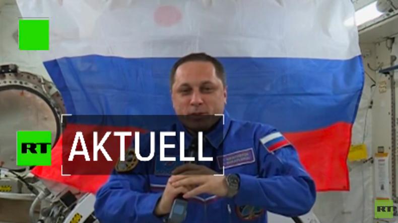 Jede Stimme zählt: Russischer Kosmonaut wählt Präsidenten im Weltall (Video)