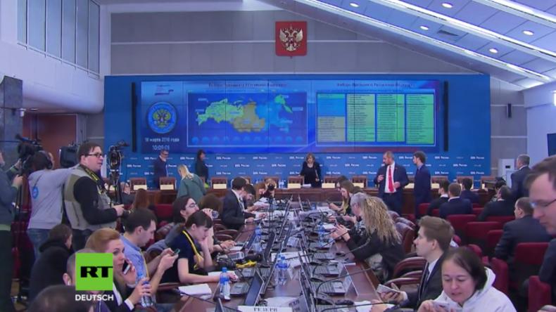 Präsidentschaftswahlen in Russland: DDoS-Attacken aus 15 Ländern auf Zentrale Wahlkommission