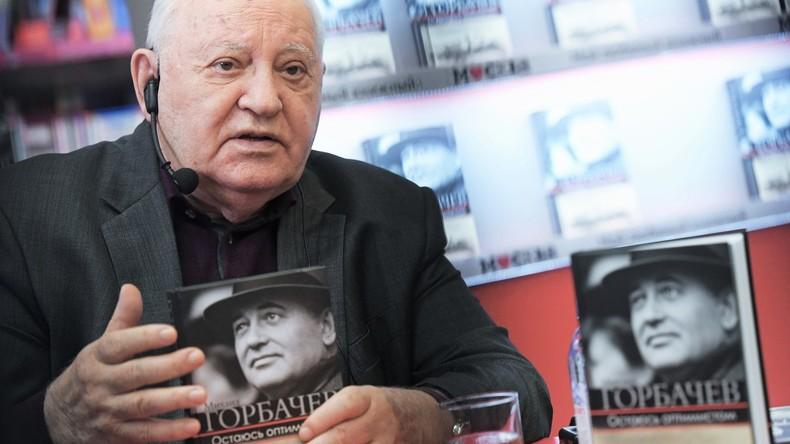 Michail Gorbatschow bei der Präsidentschaftswahl: Skripal-Fall in Großbritannien ist schrecklich
