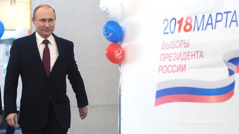 Putin führt in den vorläufigen Wahlhochrechnungen: Erste Reaktionen der Auslandspresse