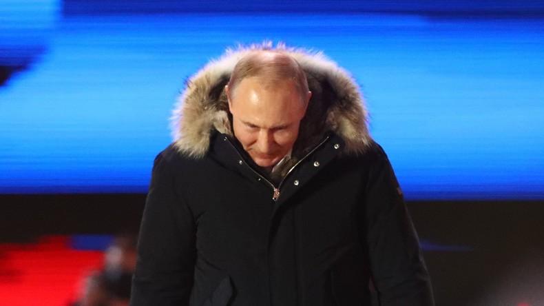 Wahlergebnisse Russland: Über 67 Prozent Wahlbeteiligung, 76,77 Prozent für Putin