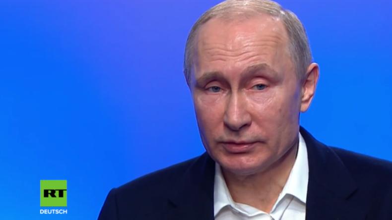 """Putin äußert sich zu Skripal: """"Jeder vernünftige Mensch versteht, dass es totaler Quatsch ist"""""""