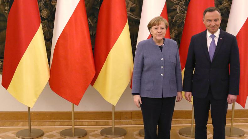 Merkel in Polen: Neue Harmonie dank der Gefahr aus dem Osten
