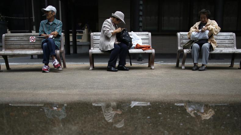 Um ins Gefängnis zu kommen: Japanische Senioren begehen Straftaten