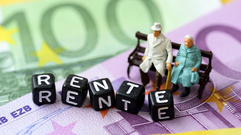 Bundesregierung bestätigt Rentenerhöhung: 3,2 Prozent im Westen, 3,4 Prozent im Osten