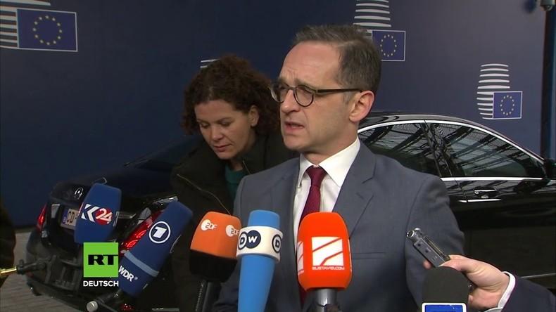 """Neuer Außenminister Maas schimpft über Russland: """"Inakzeptabel, dass auf der Krim gewählt wurde"""""""
