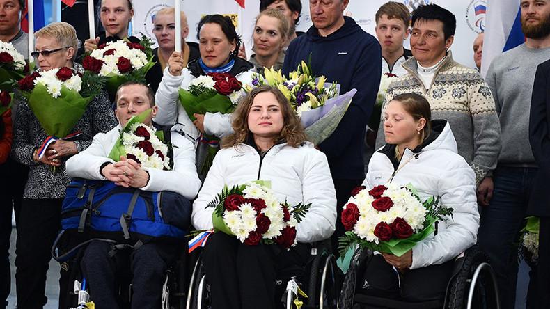 Paralympics: 30 Athleten, 24 Medaillen - Russische Sportler nach Hause zurückgekehrt