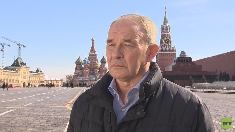 """Kommunist Tetjokin zu Putins Wiederwahl: """"Verändern wird sich nichts"""" (Video)"""