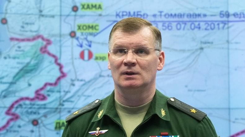 Russisches Verteidigungsministerium will alle fremden Luftobjekte in Syrien abschießen
