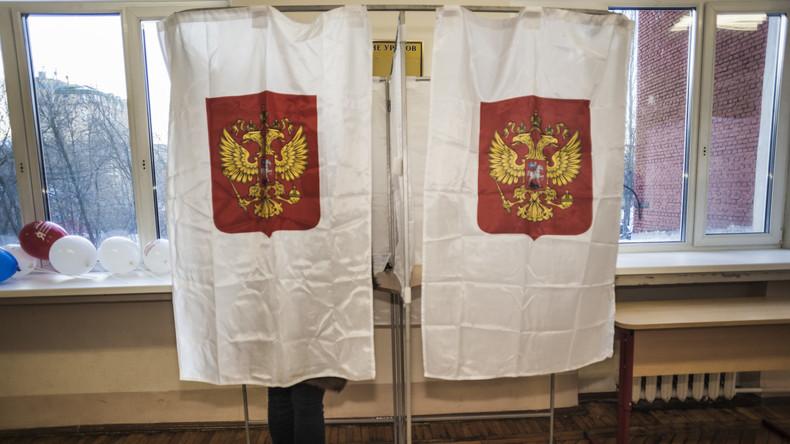 Gegen Wahlbetrug: Überwachungskameras in russischen Wahllokalen erfüllten ihren Zweck