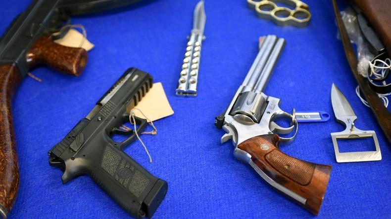 Deutschland: 24.500 Waffen als verloren oder gestohlen registriert