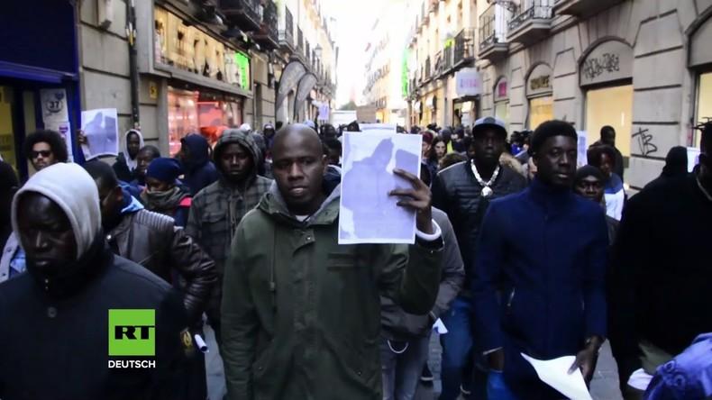 Madrid: Wieder Protest nach Tod eines afrikanischen Straßenhändlers