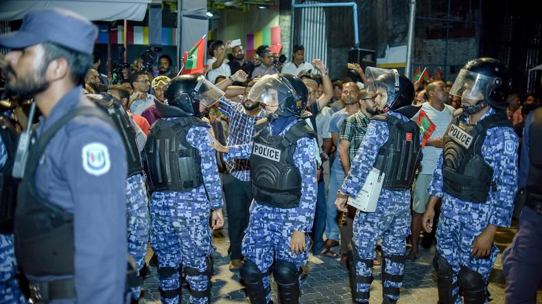Ausnahmezustand auf den Malediven nach 45 Tagen aufgehoben