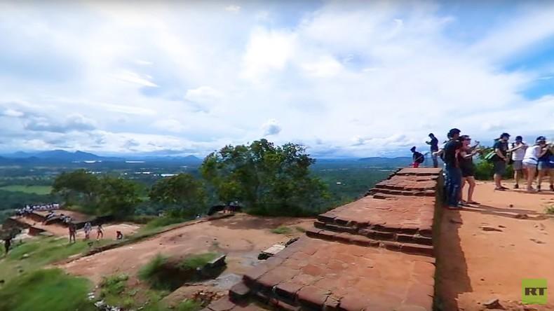 Sri Lanka: Elefanten-Safari, Sigiriya und der Höhlentempel von Dambulla (360°-Video)