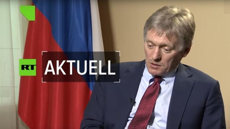 Peskow: Skripal hatte keinerlei Bedeutung für Moskau – Mordmotiv nicht vorhanden (Video)