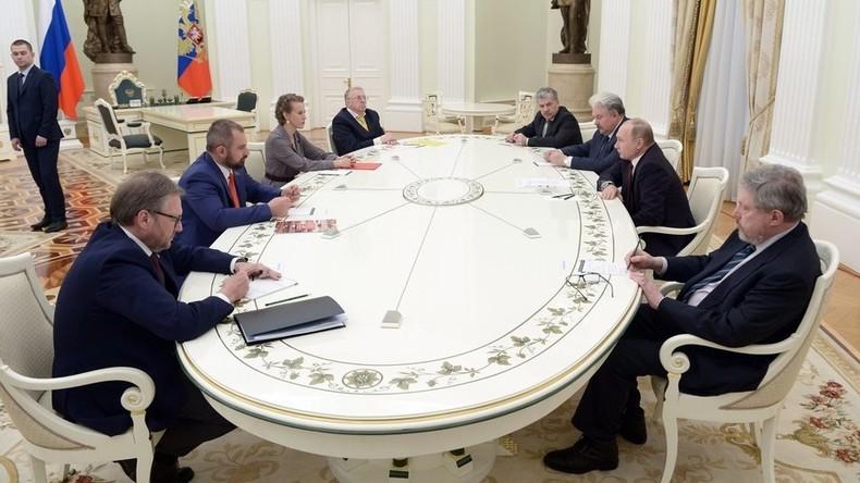 """Russland: Putin ordnet Prüfung auf Begnadigung angeblicher """"politischer Gefangener"""" an"""