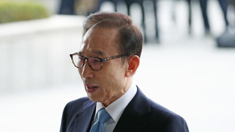 Südkoreanisches Gericht erlässt Haftbefehl gegen Ex-Präsidenten Lee Myung Bak