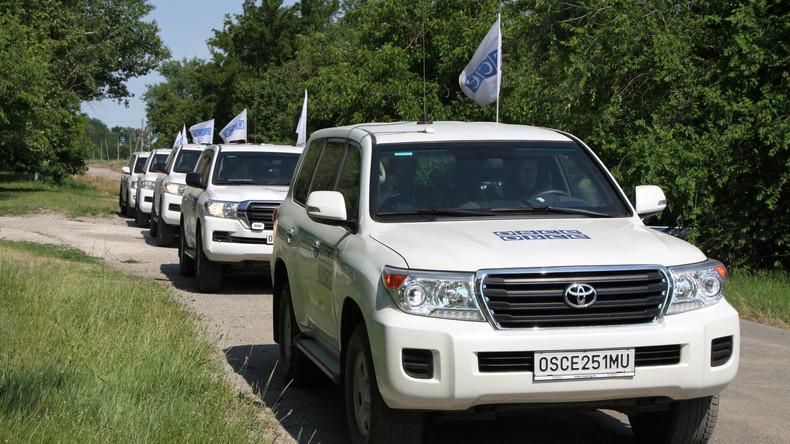 Zivile OSZE-Beobachtermission bleibt ein weiteres Jahr in der Ukraine