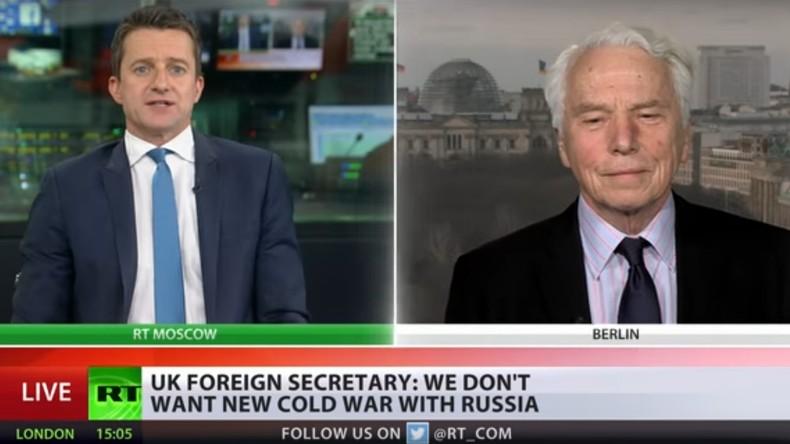 Ex-Botschafter von Plötz zum Fall Skripal: Moskau soll sich an Untersuchung beteiligen (Video)