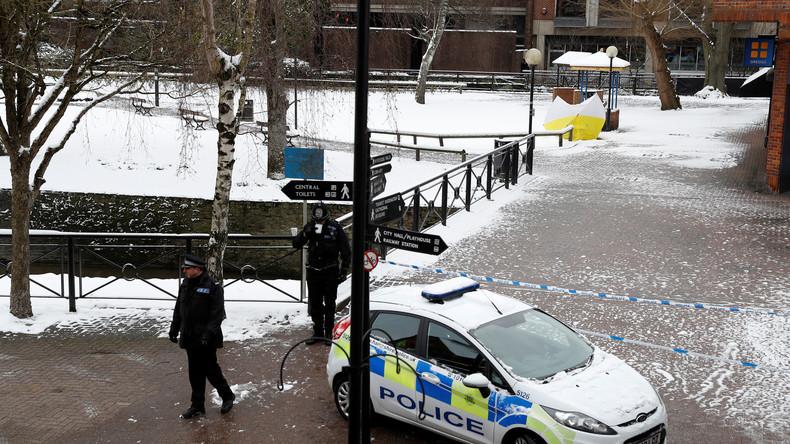 Fall Skripal: Verletzter britischer Polizist aus Klinik entlassen