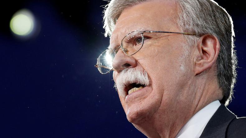 Der härteste Falke im Weißen Haus - John Bolton wird nationaler Sicherheitsberater