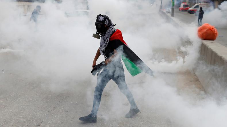 Israelische Polizei stattet Drohnen mit Tränengas gegen Hamas-Demonstranten aus