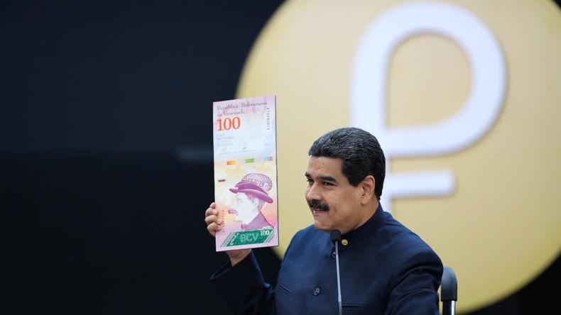 Venezuelas Staatschef Maduro kündigt Umdenominierung der Nationalwährung an