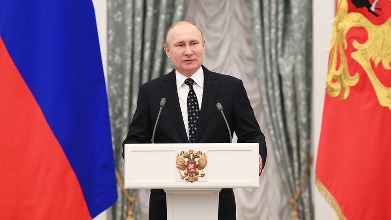 """Putins Volksansprache nach Wiederwahl: """"Wir brauchen einen wahren Durchbruch""""  (Video)"""