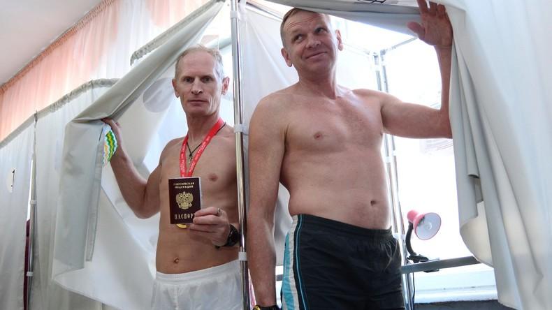 Wahl im sibirischen Barnaul