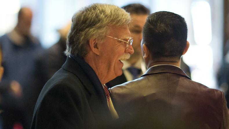 USA: Kriegsfalke John Bolton wird neuer Sicherheitsberater (Video)