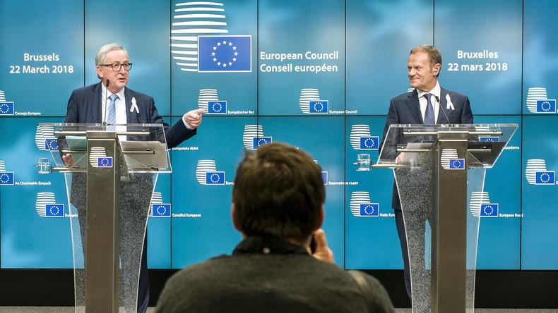 LIVE: Abschluss des Europäischen Gipfeltreffens: Pressekonferenz von Tusk und Juncker