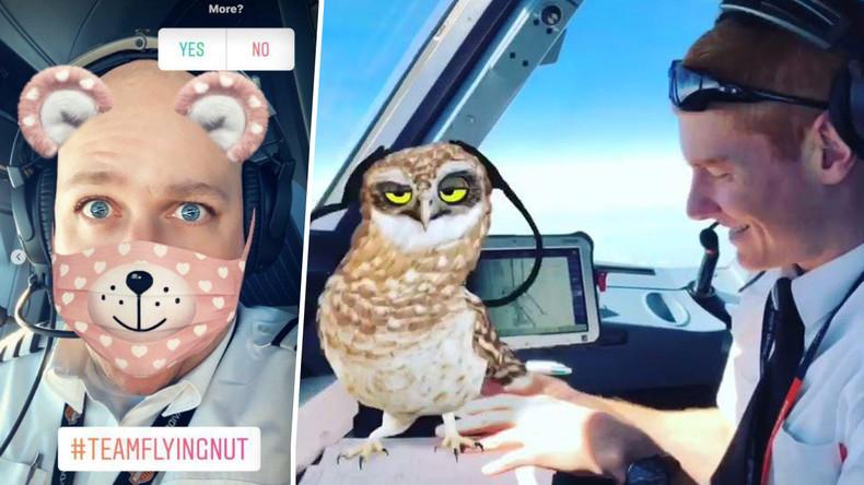 Selfies in 9.000 Metern Höhe: EasyJet-Piloten amüsieren sich während des Fluges mit Snapchat-Spiel