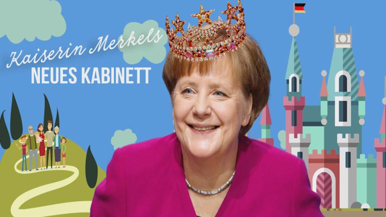 Merkels neues Kabinett 2018 | 451 Grad