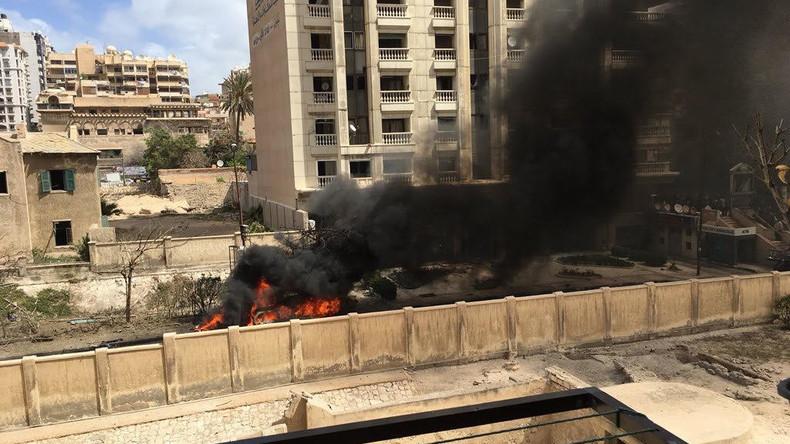 Autobombe explodiert in Alexandria – ein Toter, zwei Verletzte