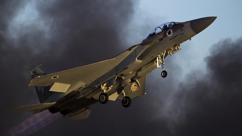 Israelische Luftwaffe greift Hamas-Militärgelände in Gazastreifen an