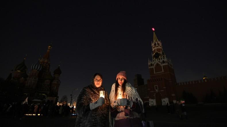 """Umweltschutzaktion: Moskau spart bei """"Stunde der Erde"""" fast 28,5 Megawattstunden Strom ein"""
