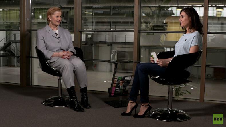 """Berliner SPD-Politikerin Syring: """"Ich finde Putins Wiederwahl gut"""""""