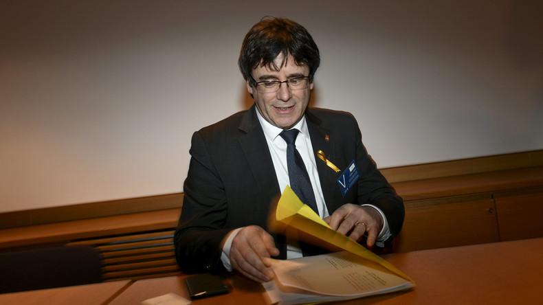 Bundespolizei nimmt Carles Puigdemont fest