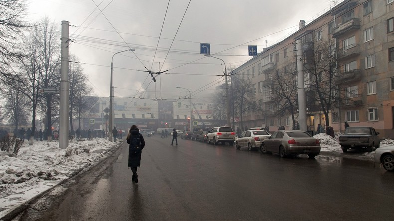 Russland: Drei Kinder und eine Frau sterben bei Großbrand in Einkaufszentrum