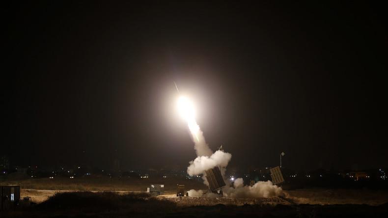 Fehlalarm nach Schüssen in Gaza: Israel setzt Raketenabwehrsystem ein und feuert Flugkörper ab